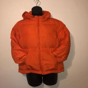 Orange Gap puffer jacket/coat XL